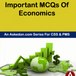 Economics MCQs For Lectureship CSS PMS And NTS Part VI