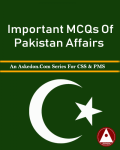 pakistan affairs mcqs