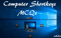 computer shortcut key mcqs 120