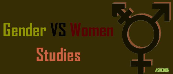 difference between gender and women's studies