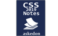 css 2019 notes
